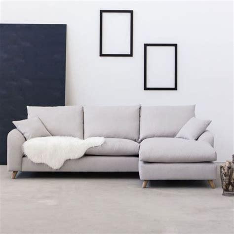 canape d angle beige canapé d angle en tissu l 265 nordic living beige
