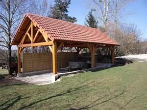 Batiment En Kit Bois : hangar bois en kit n obois constructions ~ Premium-room.com Idées de Décoration