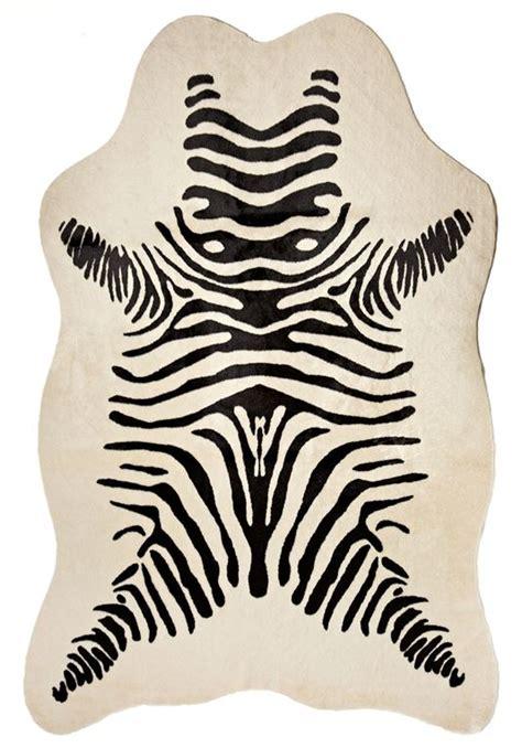 Zebra Hide Rugs by Faux Zebra Hide Rug 58 Quot X 93 Quot Faux Fur Rugs