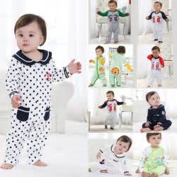 Baby spring baby  100% cotton romper long-sleeve spring and autumn thermal newborn 0-1 year old
