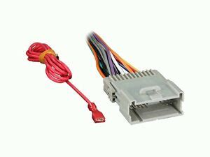 Gmc Factory Radio Wire Harnes For Aftermarket Car by Car Factory Wiring Harness To Aftermarket Radio Rap Gm
