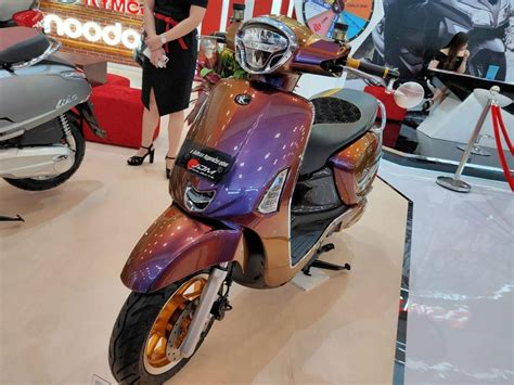 Modification Kymco Like 150i by Modifikasi Kymco Like 150i Selera Nusantara Panduan