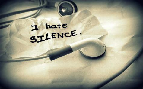 hd  hate silence wallpaper