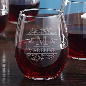 Savannah, Custom, Stemless, Wine, Glass