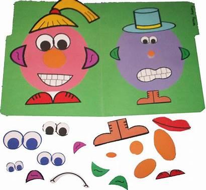 Speech Folder Printable Games Language Funny Faces