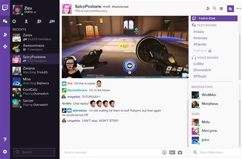 Twitch Desktop App To Feature Curse Voice Communication