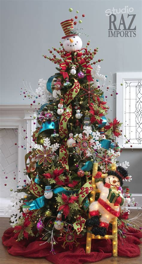 festive christmas tree decoration ideas