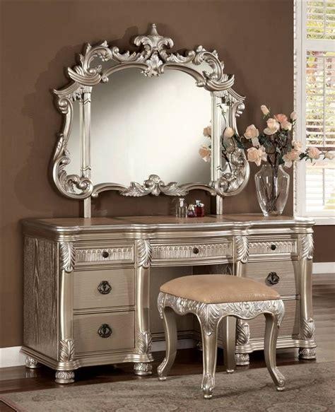 vanity sets for bedrooms bellevue 3 pc vanity set for dream bedroom house of glam 17703 | 542da144e8669250a898fb0da565282d