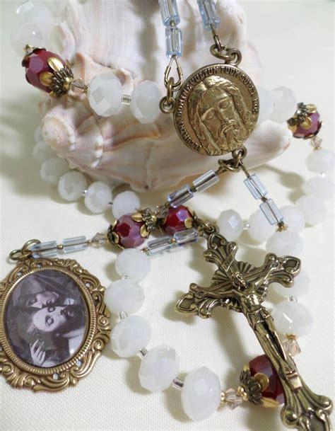 s tears rosary handmade holy chaplet tears of our