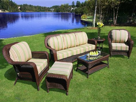 how to buy wicker garden furniture on a budget out out cool resin wicker patio furniture for all weather hgnv com