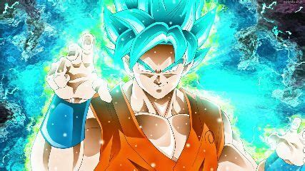 blue goku animated wallpaper mylivewallpaperscom