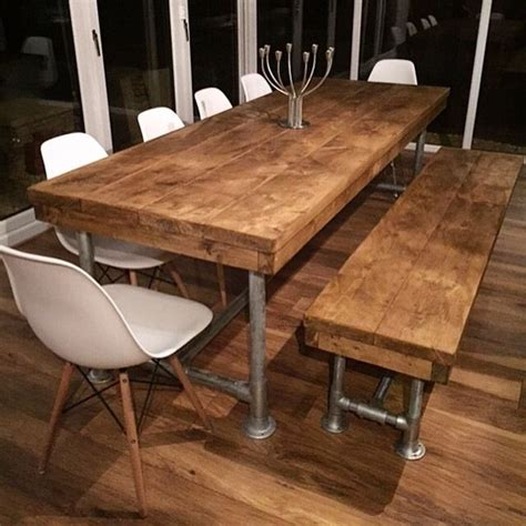 rustic dining tables ideas  pinterest rustic