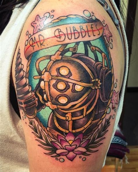 foto de bioshock infinite tattoo Google'da Ara Gaming tattoo