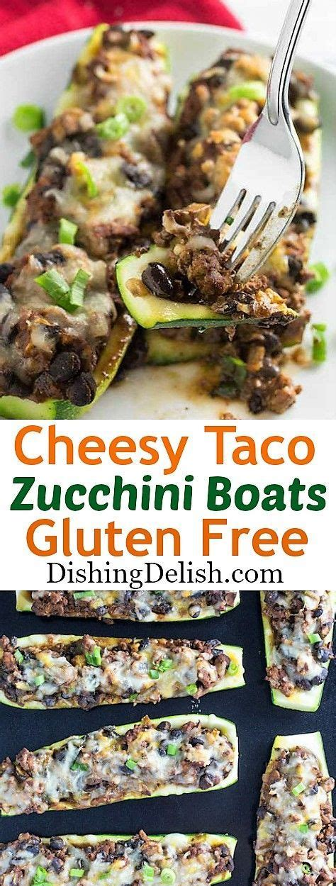 Cheesy Taco Zucchini Boats by As 353945 Melhores Imagens Em Food Central