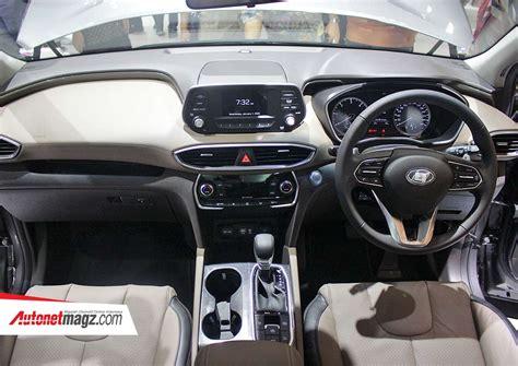 Gambar Mobil Hyundai Santa Fe by Interior Hyundai Santa Fe Baru 2018 Indonesia