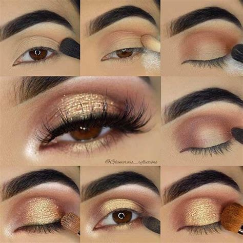make up gold 21 easy step by step makeup tutorials from instagram
