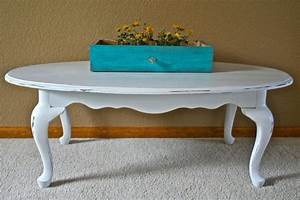 oval white distressed coffee table the painted piano With distressed oval coffee table