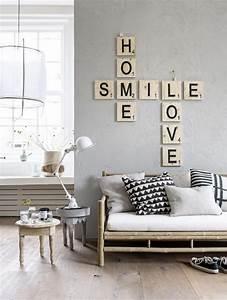Diy Deco Murale : diy cr er un d cor mural avec des mots diy parement ~ Dode.kayakingforconservation.com Idées de Décoration