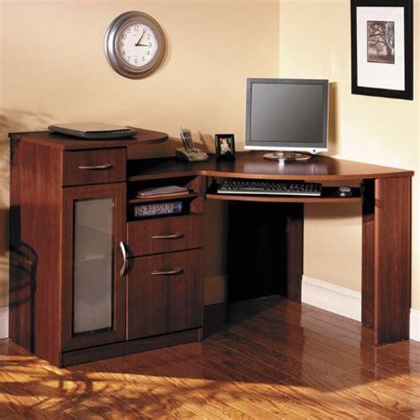 Bush Vantage Corner Desk Harvest Cherry by Bush Furniture Desks Furniture Desks American Factory
