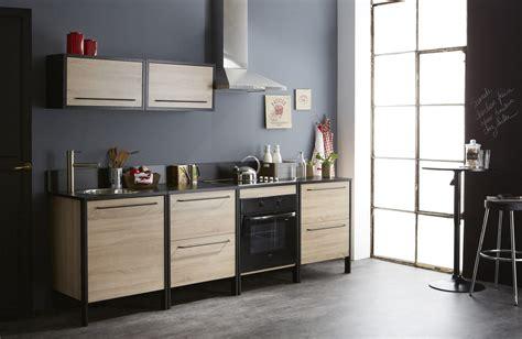 bas de cuisine meuble bas de cuisine 2 tiroirs contemporain chêne brut