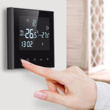 fußbodenheizung steuerung wlan wifi fu 223 bodenheizung thermostat 6 zeitraum programmierbare steuerung temperatur heizung werkzeug