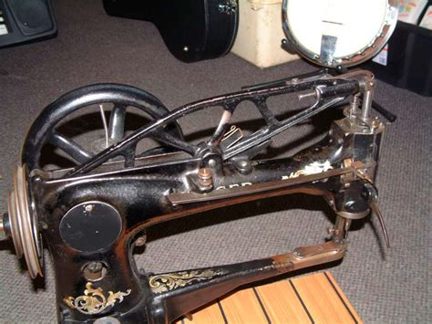 Boat Canvas Sewing Machine by Mannings Musicals 187 Singer 29k Boot Patcher Leather