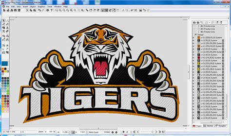 Designshop Commercial Embroidery Digitizing Software