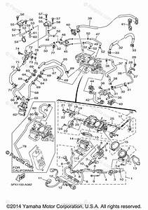 Yamaha Motorcycle 2009 Oem Parts Diagram For Intake