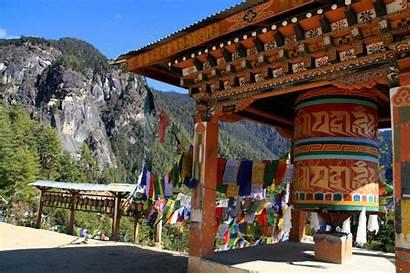 Bhutan Nest Prayer Wheel Tiger Tigers Monastery