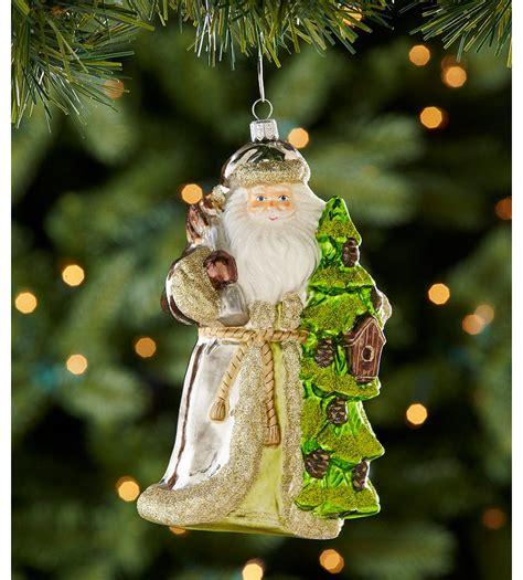 Dillards Ornaments 2012 by Dillard S Trimmings Santa With Tree Ornament