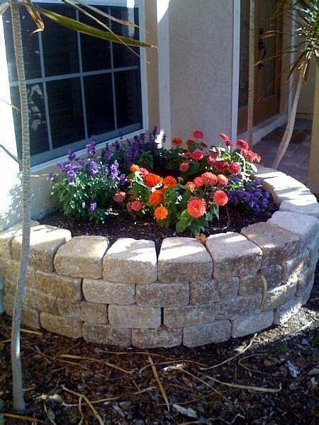 retaining flower bed wall build walls beds garden stone raised brick flowers building create landscaping around backyard outdoor spring block