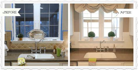 Painted Tiles For Kitchen Backsplash by Painted Tile Backsplash In My Kitchen A Year Later
