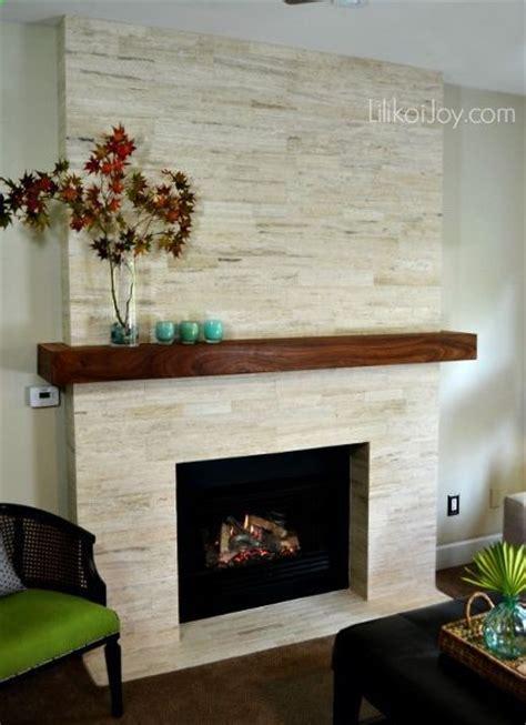 fireplace modern makeover before after diy