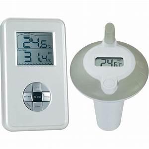 Thermometre Piscine Sans Fil : thermom tre de piscine argent sur le site internet conrad ~ Dailycaller-alerts.com Idées de Décoration