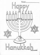 Hanukkah Coloring Dreidel Menorah Teacherspayteachers Colors Hannukah sketch template