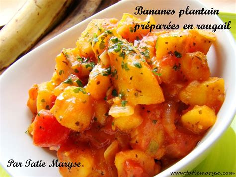comment cuisiner les bananes plantain variez les plaisirs avec ce rougail bananes plantain