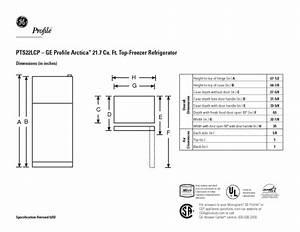 Ge Profile Arctica Pts22lcpww Manuals