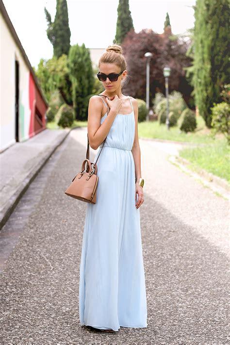 Cotton Dress Baby Blue baby blue maxi dress karamode