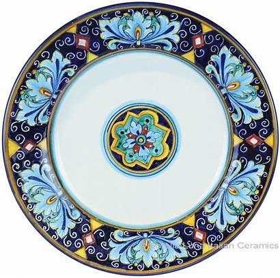 Italian Plate Dinner Charger Ceramic Deruta Plates