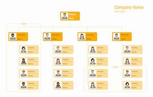 company hierarchy chart template 25 typical orgcharts solution conceptdraw com