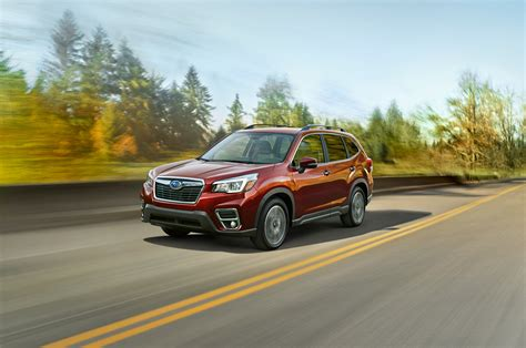 subaru forester  freshened   flavors