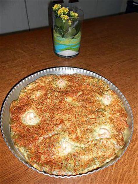 recette de quiche sans p 226 te au saumon fum 233 crevettes aneth et ch 232 vre frais par lydie44