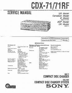 Sony Cdx G1150u Manual Pdf