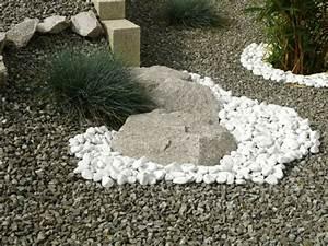 Déco Massif Avec Galets : kinderzimmers belle idee d co jardin galet blanc ~ Dailycaller-alerts.com Idées de Décoration