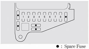 Acura Nsx  2002 - 2005  - Fuse Box Diagram