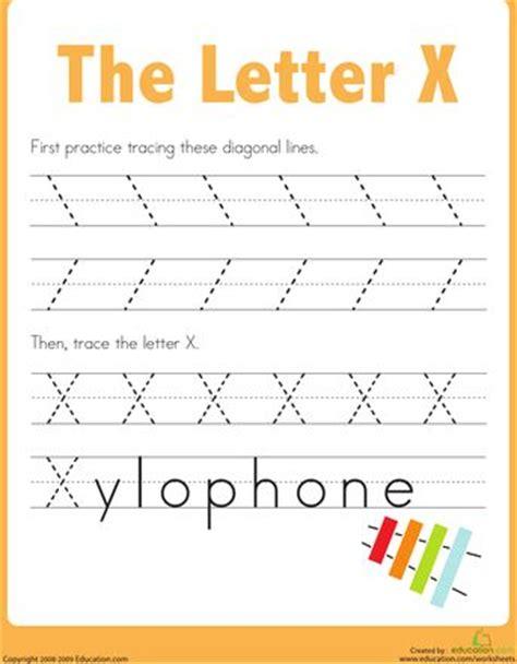 letter  worksheets images  pinterest alphabet