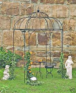 Pavillon Für Balkon : pavillon fidelio halbrund mit bank edelrost gartenlaube ~ Michelbontemps.com Haus und Dekorationen