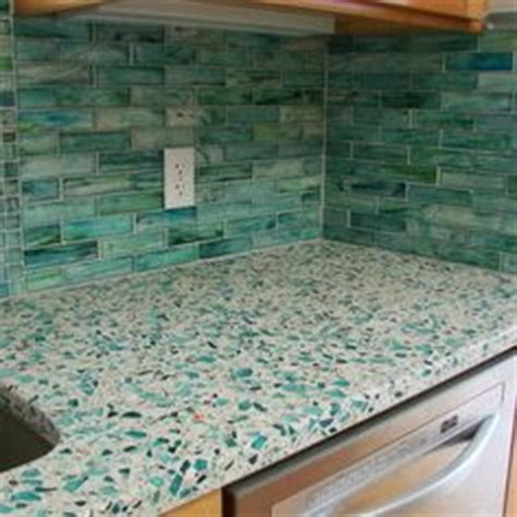 Recycled Glass Countertops San Diego by 1000 Ideas About Recycled Glass Countertops On
