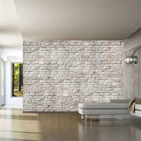 Tapisserie Murale papier peint trompe l oeil design pas cher tapisserie