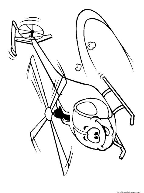 printable smiley face flyer helicopter coloring pagesfree printable coloring pages  kids